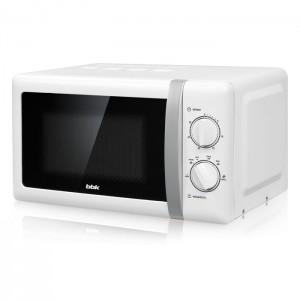 Микроволновая печь BBK 20MWS-804M/WS, белый/серебристый