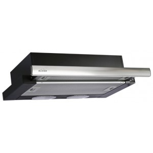 Встраиваемая вытяжка ELIKOR Интегра 60П-400-В2Л, черный/нержавеющая сталь