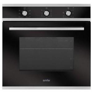 Духовой шкаф Simfer B6ES16002, серебристый/черный